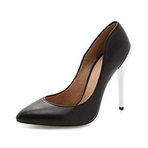 NIB IRO Sabel Stiletto Pumps, black & white, 38